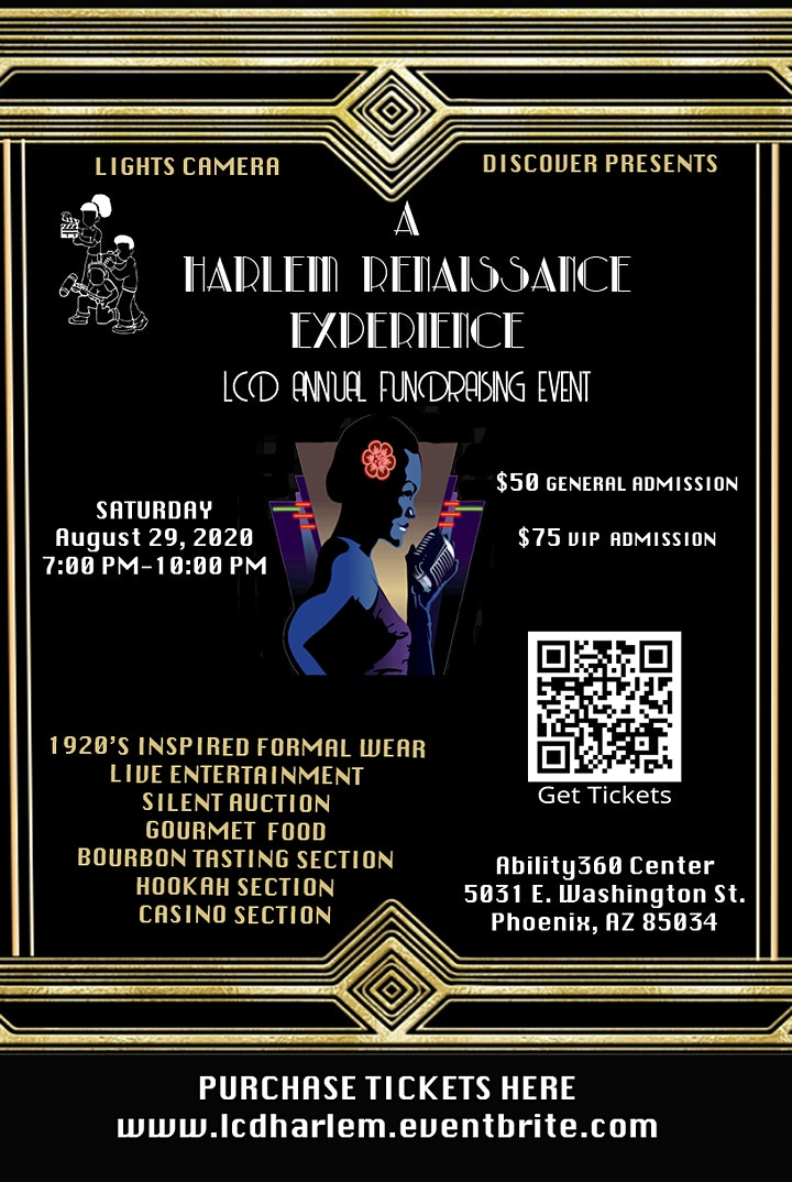 A Harlem Renaissance Experience LCD Annual Fundraising Event image