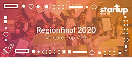 Regionfinal Venture Cup 2020 biljetter