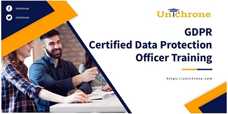 GDPR CDPO Certification Training in Glasgow United Kingdom tickets