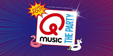 Qmusic the Party - 4uur FOUT! in Vlijmen (Noord-Brabant) 19-12-2020 tickets
