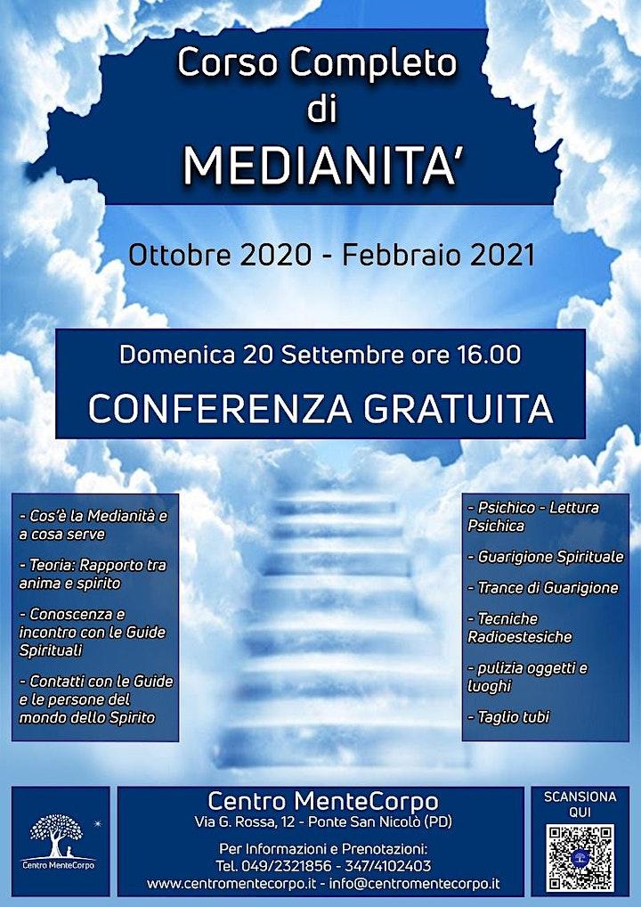 Immagine Corso Completo di Medianità