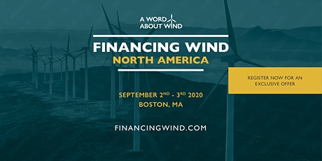 Financing Wind North America 2020 tickets