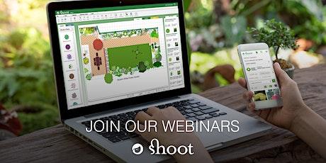 Demonstration Webinar on Shoot for Hobby gardeners tickets