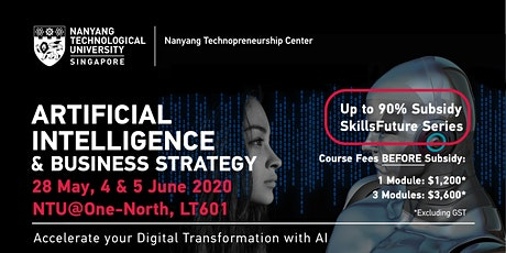 Artificial Intelligence & Business Strategy tickets