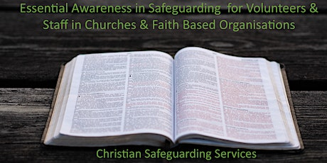 Essential Awareness Safeguarding Training for Church `Volunteers tickets