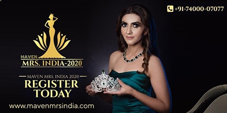Maven Mrs. India 2020 Audition in Ahmedabad tickets