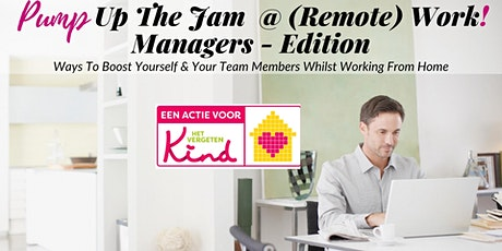 Pump Up The Jam @ (Remote) Work - Managers Edition tickets