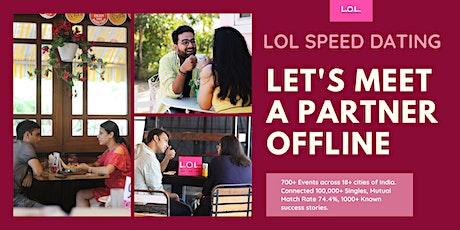 LOL Speed Dating CHANDIGARH July11 tickets