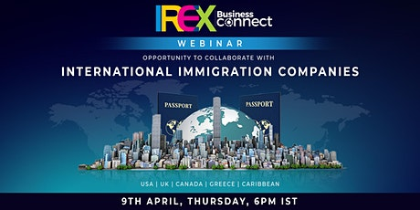 IREX Business Connect Webinar tickets