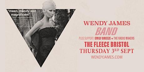 Wendy James (ex Transvision Vamp) plus Emily Breeze tickets