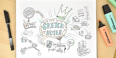 Sketchnotes auf der Couch! Onlinekurs Tickets