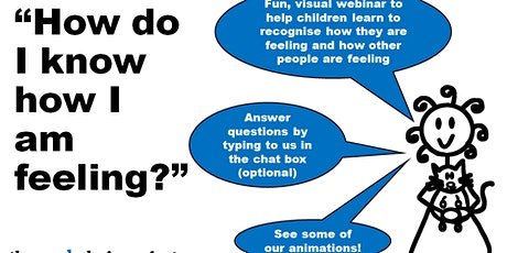 Recognising emotions as an autistic child (45 minute webinar with Sam) tickets