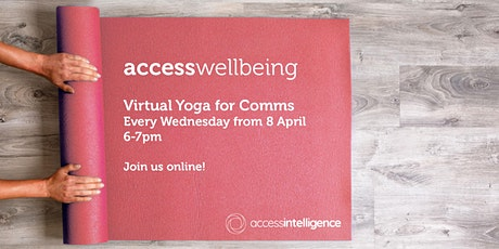 accesswellbeing - Virtual Yoga for Comms tickets