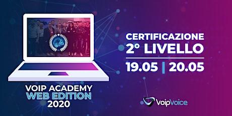 Corso di Certificazione Secondo Livello VoipVoice  biglietti