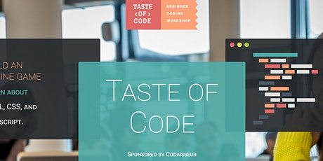 Taste of Code at Codaisseur tickets