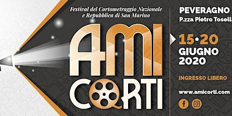 Amicorti Festival Cinematografico del cortometraggio biglietti