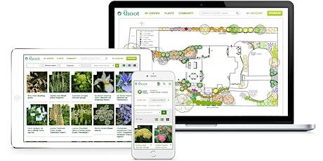Training on Shoot's Garden Planner for garden design professionals tickets