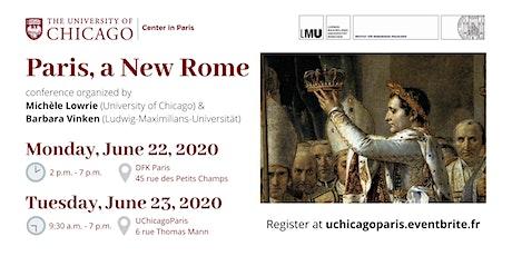 Paris, a New Rome billets