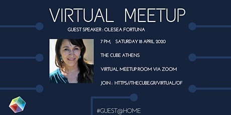 Virtual meetup with Olesea Fortuna - organize your work remotely tickets