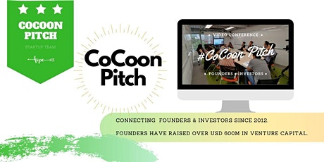 CoCoon Pitch: Connecting Founders and Investors tickets