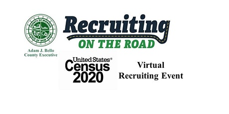 Virtual Recruiting on the Road for the US Census tickets
