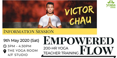 200-hour Yoga Teacher Training with Victor Chau - Info Session tickets