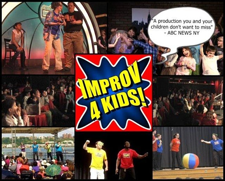 Improv 4 Kids presents Online Shows for the whole family image