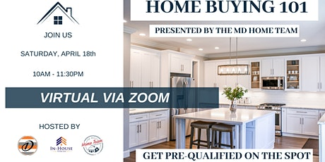 April: Home Buying 101 (VIRTUAL) tickets