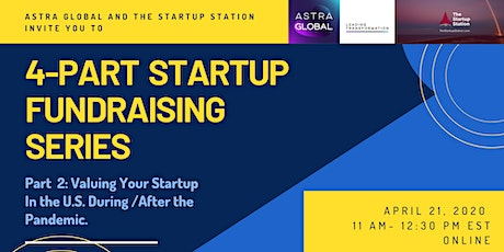 Valuing Your Startup in the U.S. During/After the Pandemic tickets