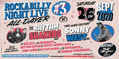 Rockabilly Night LIVE 3: The Ultimate Rockabilly All-Dayer! tickets