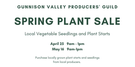 Producer's Guild Spring Plant Sale! tickets