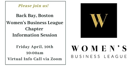 Back Bay, Boston WBL Chapter Virtual Info Session tickets