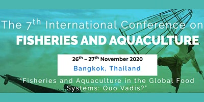 7th International Conference on Fisheries and Aqua