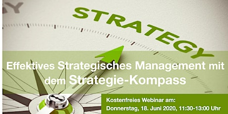 Freies Webinar: Strategisches Management mit dem Strategie-Kompass Tickets