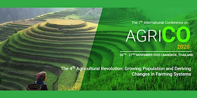The 7th International Conference on Agriculture 20