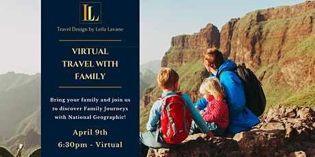 Virtual Travel Series: Family Journeys tickets