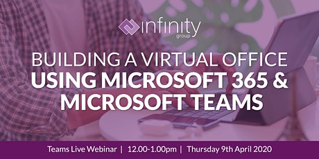 Building a virtual office using Microsoft 365 and Microsoft Teams tickets