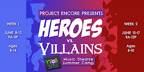 Project Encore Music Theatre Summer Mini-Camp 2020 - WEEK 2 tickets
