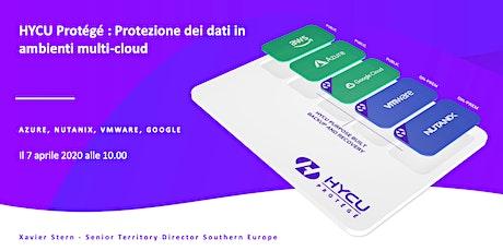 HYCU Protégé : Protezione dei dati in ambienti multi-cloud (ora Italia) biglietti