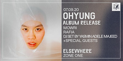 OHYUNG @ Elsewhere (Zone One)