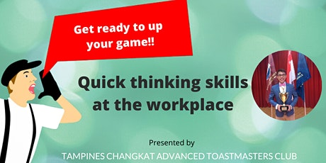 Quick thinking skills for the workplace tickets