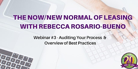 Auditing your Process and Overview of Best Practices entradas