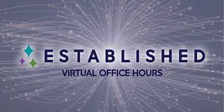 Established Virtual Office Hours - April 2, 2020 tickets