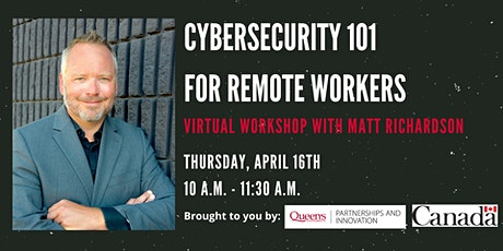 Cybersecurity 101 for Remote Workers tickets
