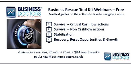 Business Rescue Toolkit - Part 3 tickets