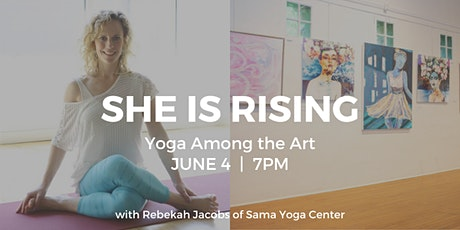 She is Rising: Yoga Among the Art tickets