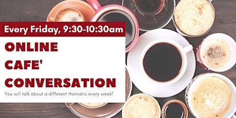 Online Café'Conversation thématique tickets