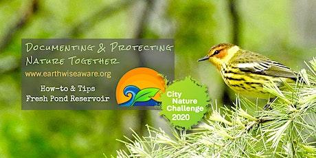 2020 Urban Wildlife Quest How-to: Fresh Pond tickets