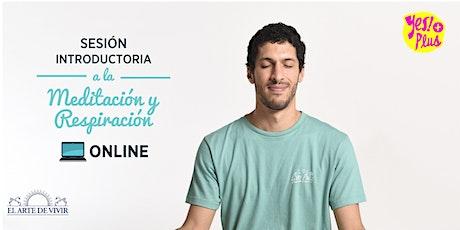 Taller online de Respiración y Meditación - Introducción gratuita al Yes!+Plus en Uruguay entradas