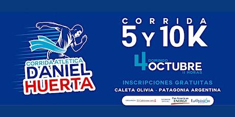 Corrida Atlética Daniel Huerta 2020 entradas